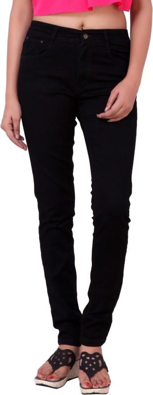 Airways Regular Women Black Jeans