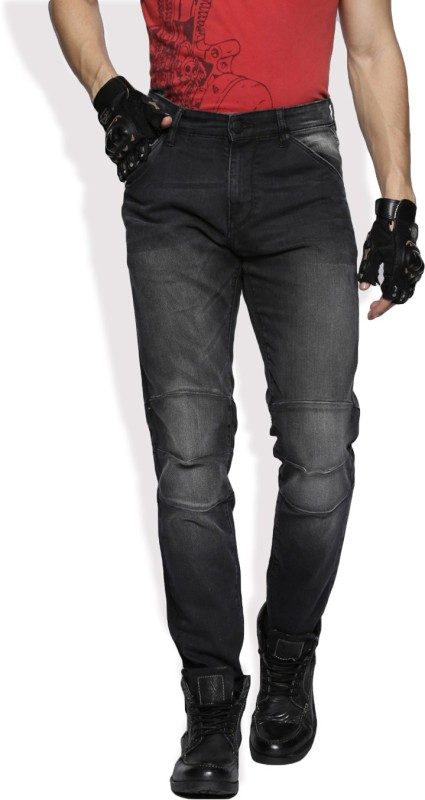 Roadster Slim Mens Black Jeans