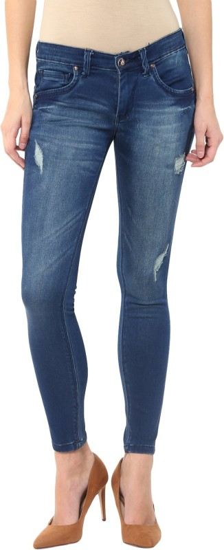 Urban Navy Slim Women Dark Blue Jeans