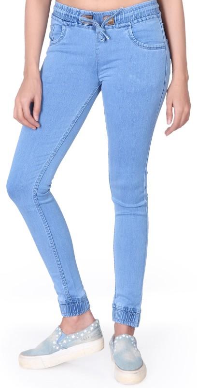 Villain Skinny Women Light Blue Jeans