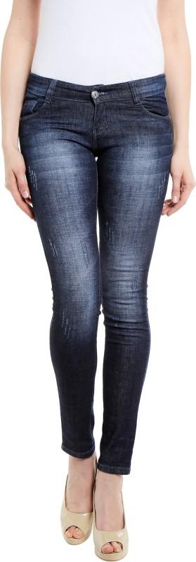 Ffungus Slim Women Dark Blue Jeans