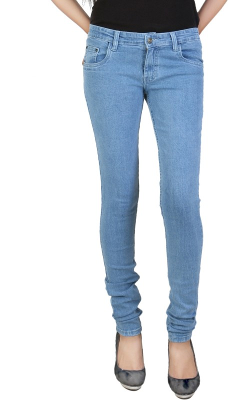 Ruok Slim Women Blue Jeans