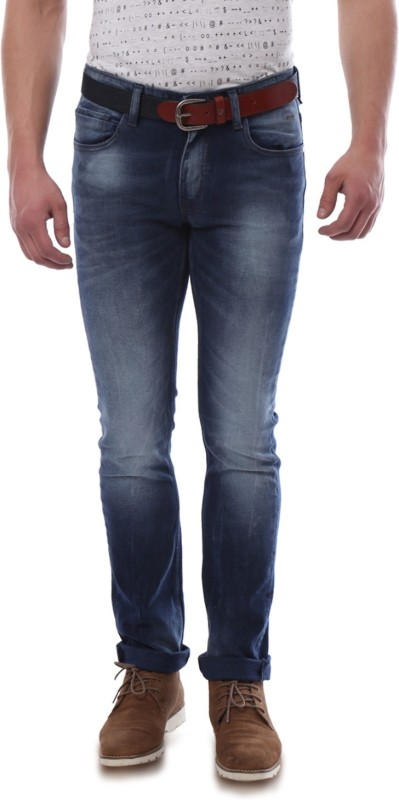 Van Heusen Regular Mens Blue Jeans