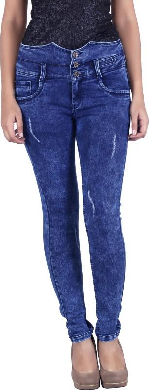 Bat Regular Women Blue Jeans