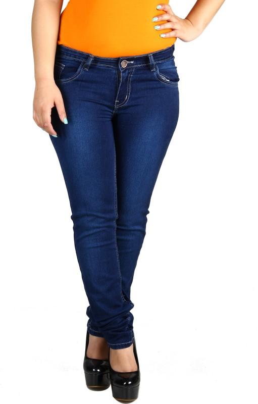 Fashion Cult Slim Women Dark Blue Jeans