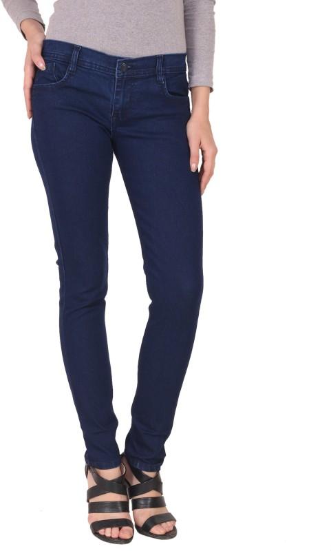 Manash Fashion Slim Women Blue Jeans