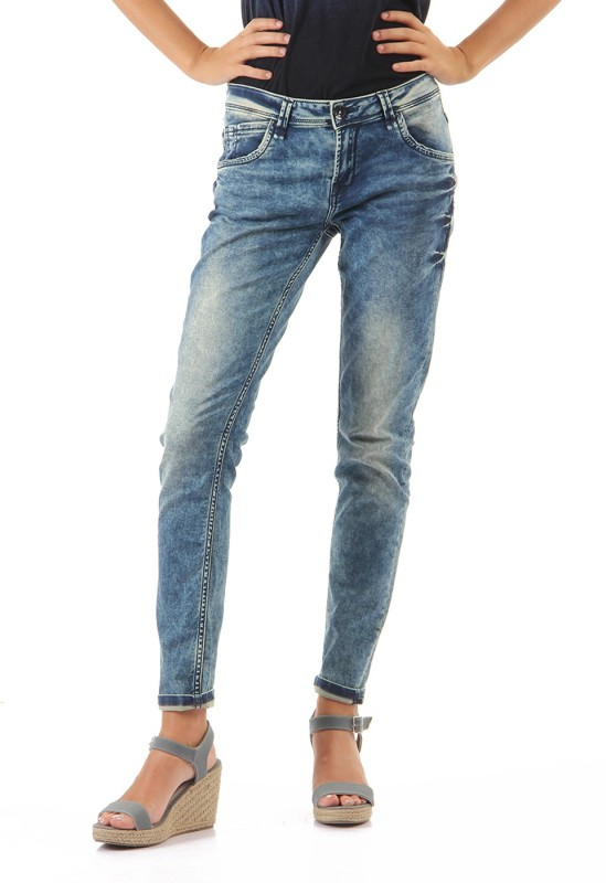 Pepe Jeans Skinny Women Blue Jeans