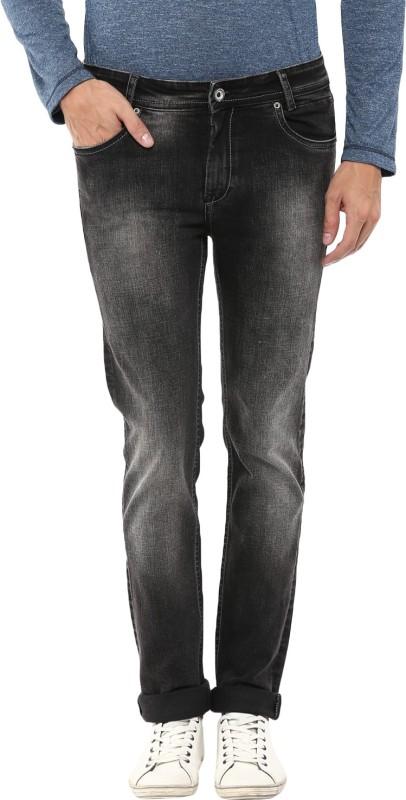 Mufti Regular Mens Black Jeans