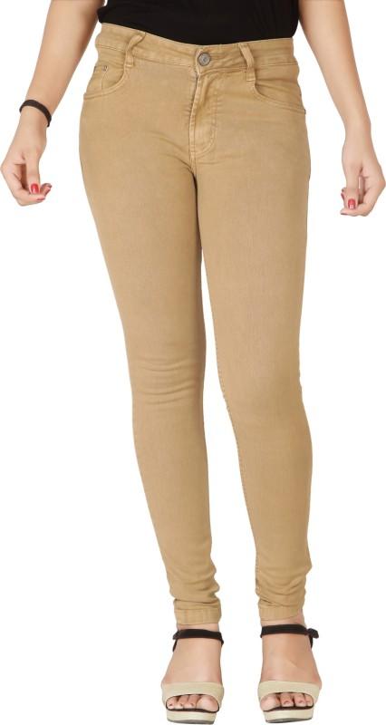 Flirt NX Super Skinny Women Beige Jeans