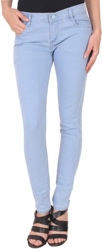 Manash Fashion Skinny Women Light Blue Jeans