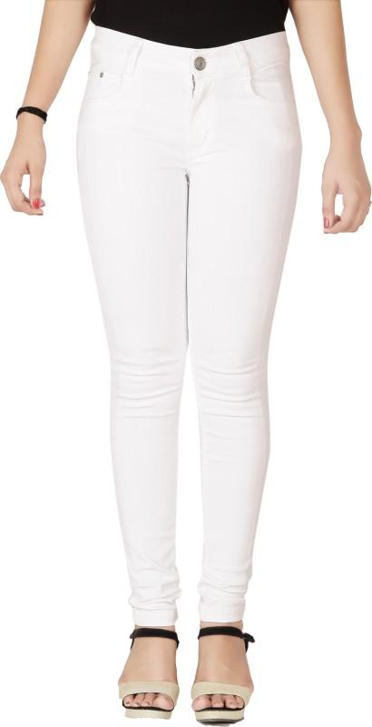 Flirt NX Skinny Women White Jeans