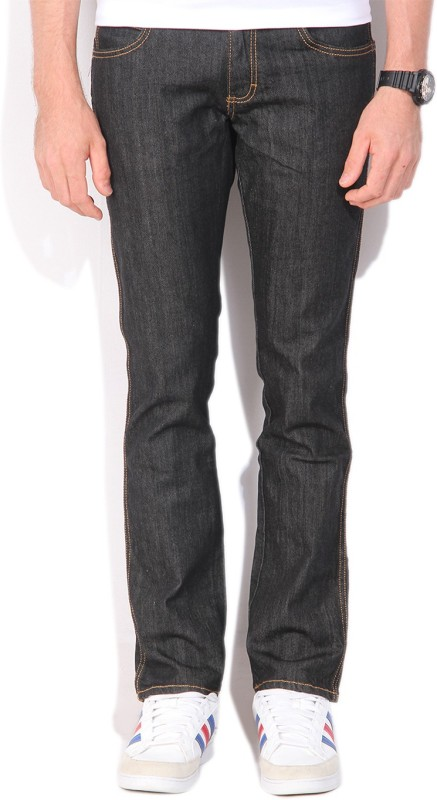 Wrangler Regular Mens Black Jeans
