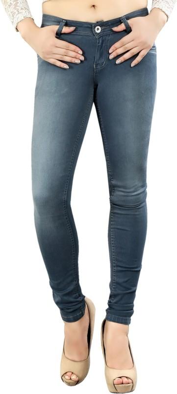 Fck-3 Super Skinny Women Blue Jeans