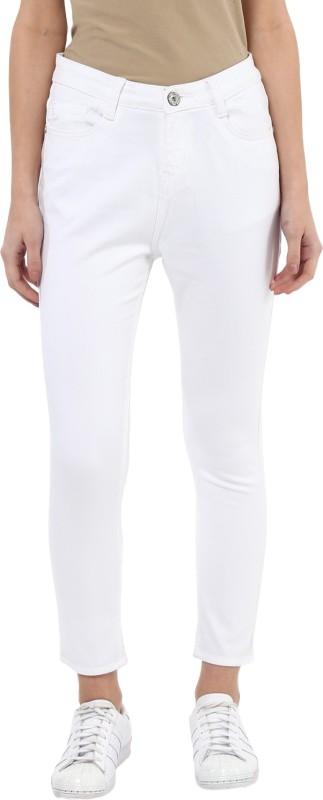 Urban Navy Skinny Women White Jeans