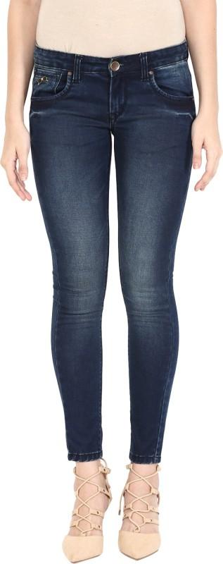 Urban Navy Super Skinny Women Dark Blue Jeans