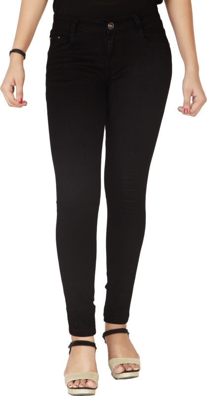Flirt NX Skinny Women Black Jeans