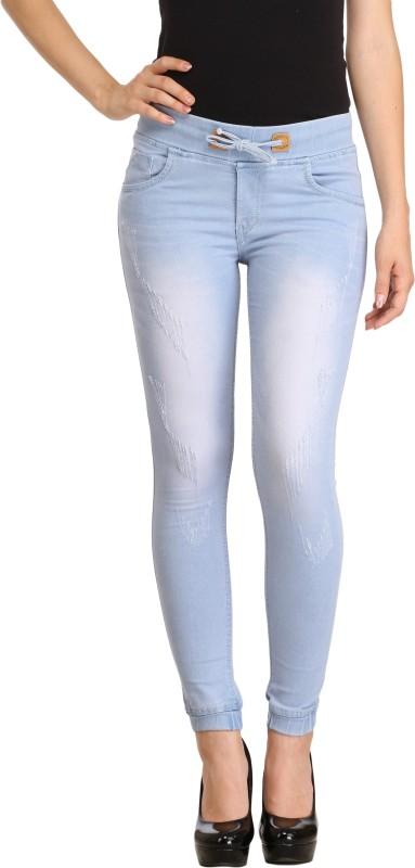 Cali Republic Jogger Fit Women Light Blue Jeans