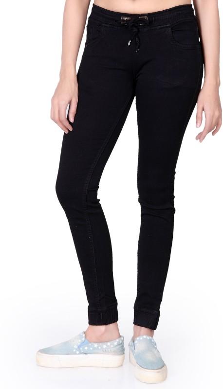 Villain Skinny Women Black Jeans