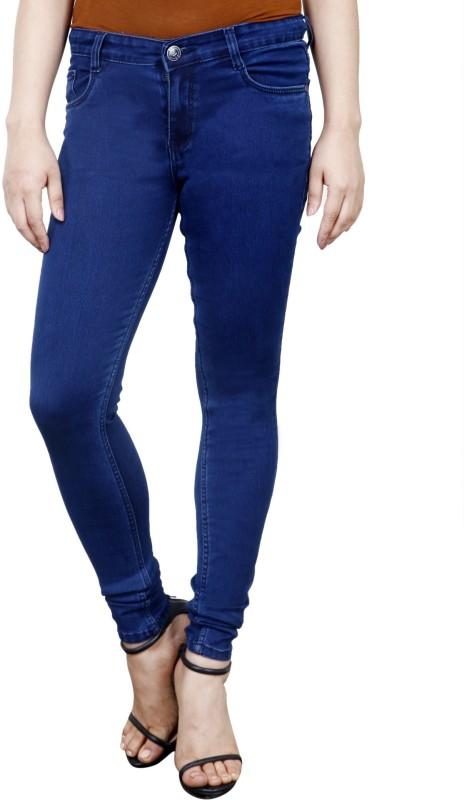 FACTS Skinny Women Dark Blue Jeans