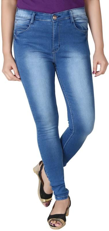 Prankster Skinny Women Light Blue Jeans