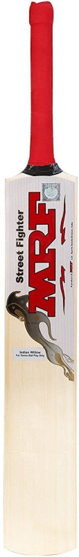 Mrf Street Fighter Poplar Willow Cricket Bat(Short Handle, 900-1100 g kg)