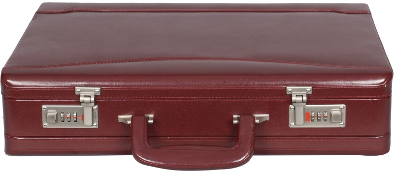 OBANI Faux leather briefcase Medium Briefcase - For Men & Women(Maroon)