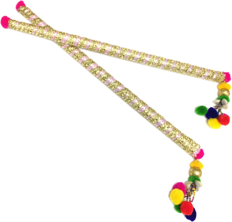 loopsnknots Dandiya Garbha Sticks (pop009) Dandia Sticks(Multicolor)