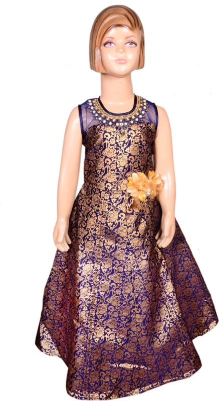 Anmol Dresses Women Gown Blue Dress