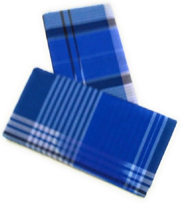 Cotton Colors Checkered, Striped Multicolor Lungi