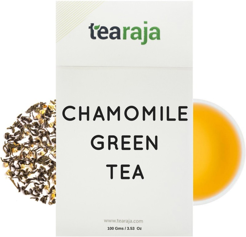 Tearaja Chamomile Green Tea Chamomile Herbal Tea(100 g, Vacuum Pack)