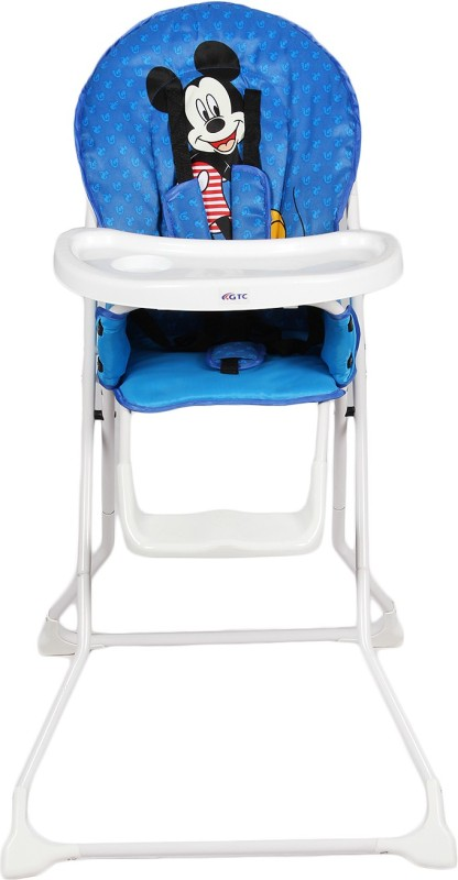 RIMJHIM TOYS Portable High Chair , Baby Dining Chair(Blue)
