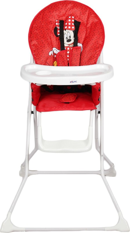RIMJHIM TOYS Portable High Chair , Baby Dining Chair(Red)