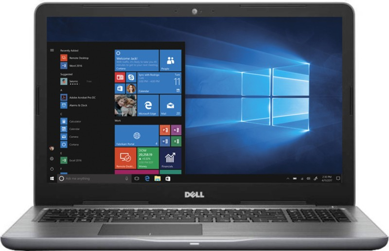 Dell Inspiron 5000 Core i5 7th Gen - (4 GB/1 TB HDD/Windows 10 Home/2 GB Graphics) 5567 Laptop(15.6 inch, Grey, 2.36 kg, With MS Office)