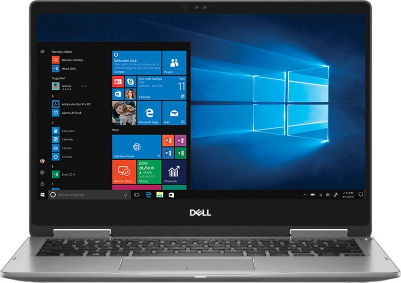 Dell Inspiron 13 7000 Core i7 8th Gen - (16 GB/512 GB SSD/Windows 10 Home) 7373 2 in 1 Laptop(13.3 inch, Era Grey, 1.45 kg, With MS Office)