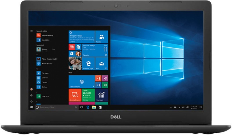 Dell Inspiron 15 5000 Core i5 8th Gen - (8 GB/1 TB HDD/Windows 10 Home/2 GB Graphics) 5570 Laptop(15.6 inch, Licorice Black, 2.2 kg, With MS Office)