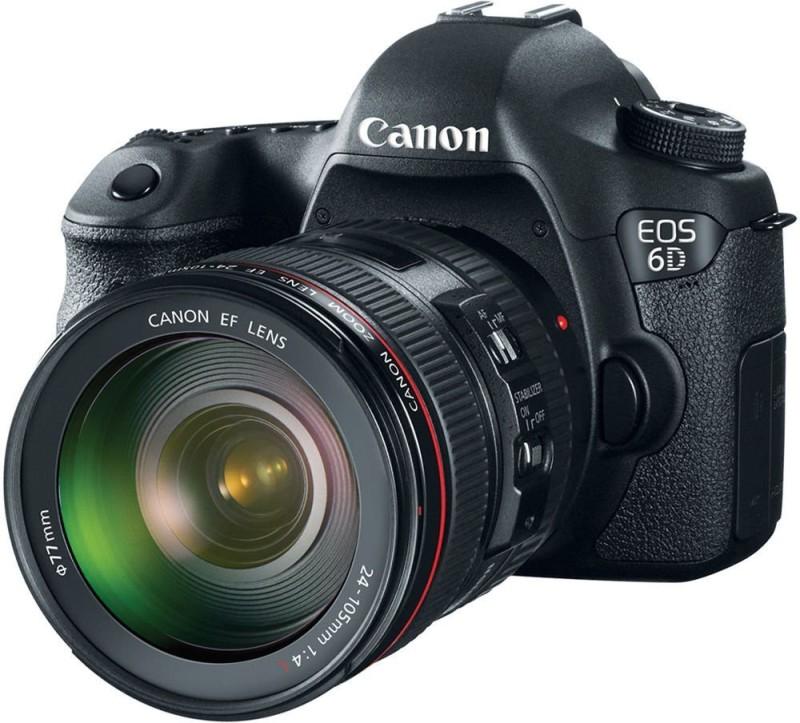Canon DSLR Camera (Kit 24 - 105)(Black) image