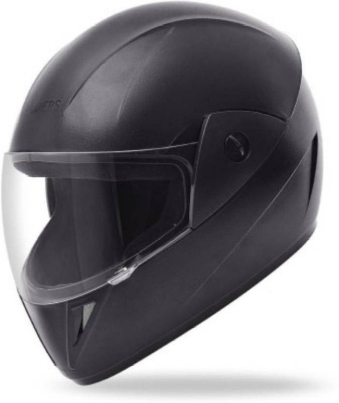 Enfield Works Helmet Rk GLIDERS Jazz FUll Face Motorbike Helmet(Black)