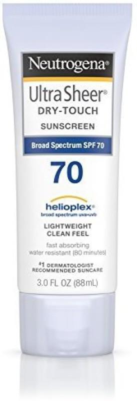 Neutrogena Ultra Sheer Dry-Touch Sunscreen Broad Spectrum Spf 70(88.73 ml)