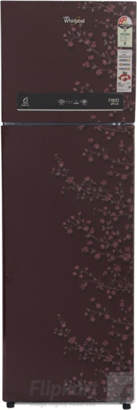 Whirlpool 292 L Frost Free Double Door 3 Star Refrigerator(Wine Gloria, IF 305 ELT 3S)