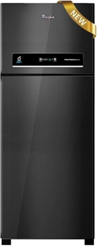 Whirlpool 450 L Frost Free Double Door 3 Star Refrigerator(Mirror Black, PRO 465 ELT 3S)