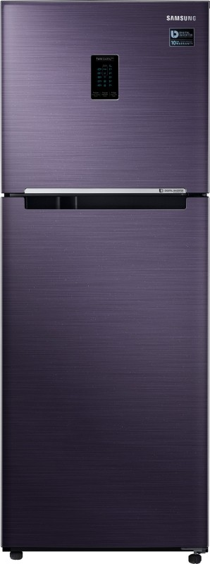 Samsung 324 l Frost Free Double Door Top Mount 3 Star Convertible Refrigerator(Pebble Blue, RT34M5538UT-HL)