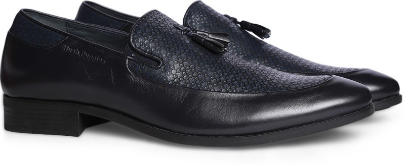 Hush Puppies By Bata RUSSELL Loafers For Men(Blue)