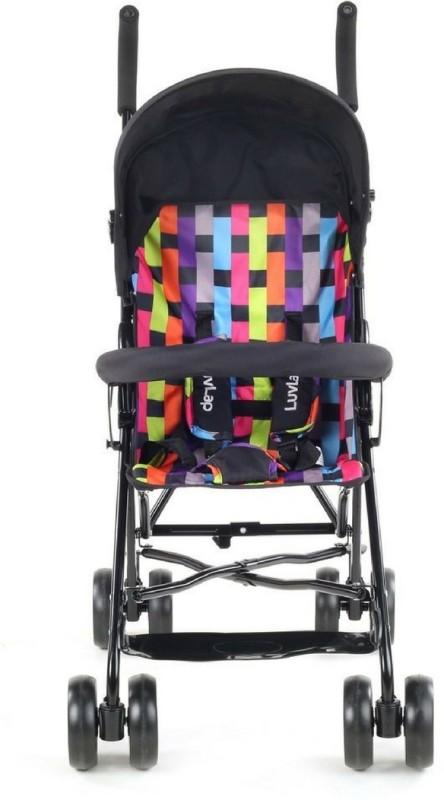 LuvLap Tutti Frutti baby Stroller -Printed Black(5, Black)