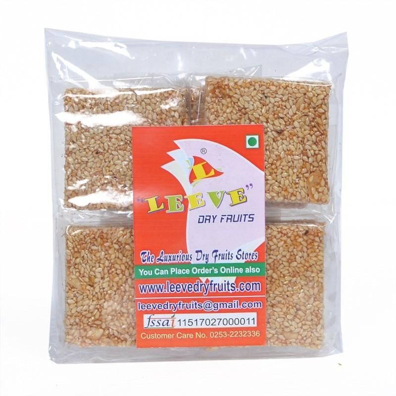 Leeve Dry Fruits Chikki | Till | Sesame | Chikki(400 g, Pouch)