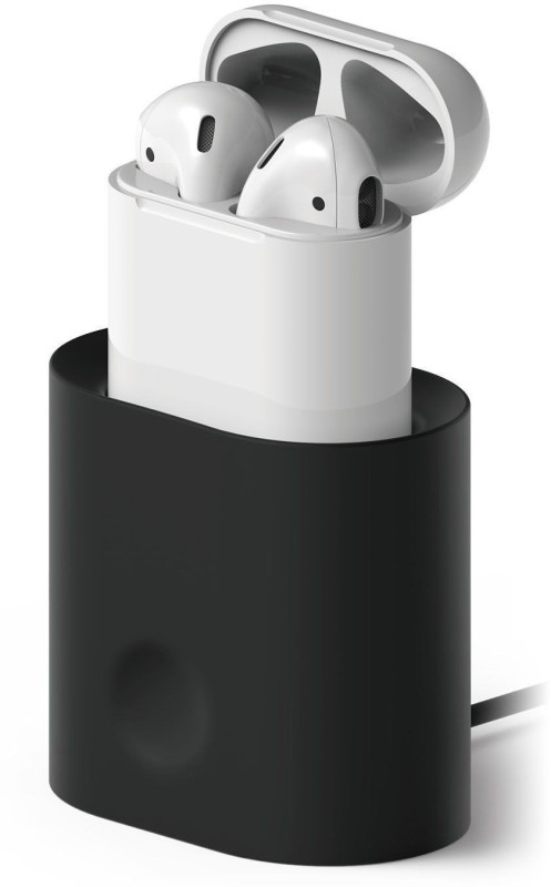 Elago Elago Charging Station Stand Headphone Stand(Black Pack of 1)