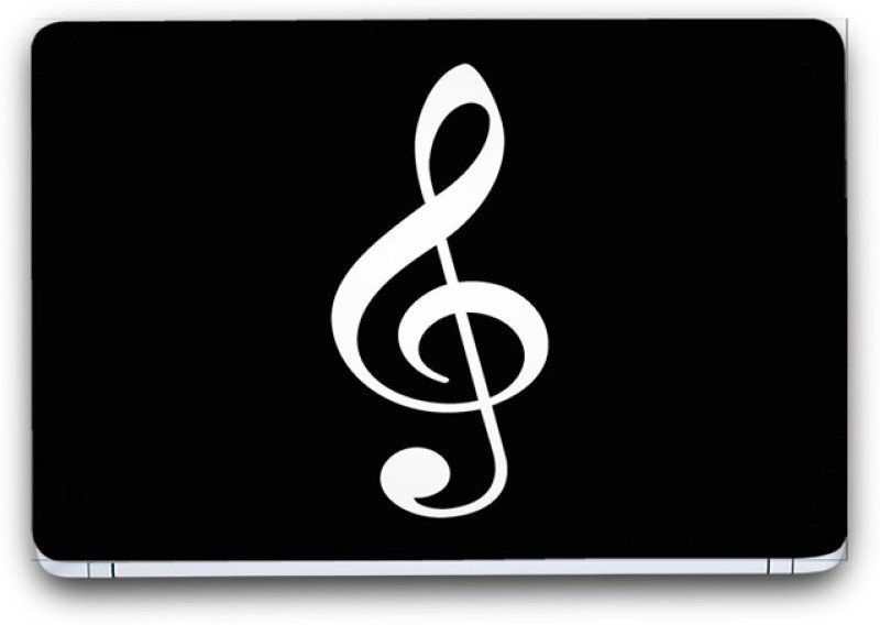 Flipkart SmartBuy Musical Notes 4 Vinyl Laptop Skin (3M/Avery Vinyl, Matte Laminated, 15 x 10 inches) Vinyl Laptop Decal 15.6