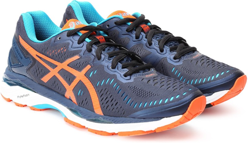 Asics GEL-KAYANO 23 Running Shoes For Men(Blue)
