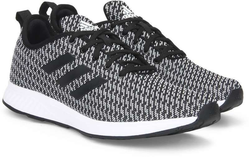 Adidas KIVARO 1 M Running Shoes For Men(Black, White)
