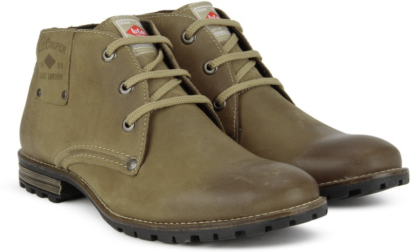 Lee Cooper LC1693 Boots For Men(Brown)
