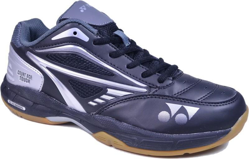 Yonex Court Ace Tough Badminton Shoes For Men(Black, Grey, Silver)